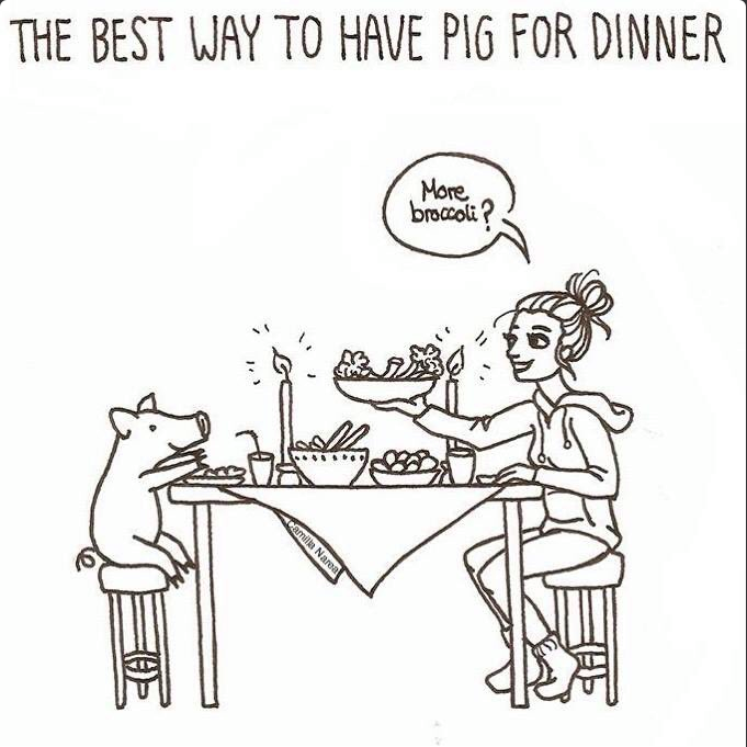 Best way to have a pig for dinner